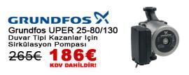 Grundfos UPER 25-80/130 Sirkülasyon Pompası