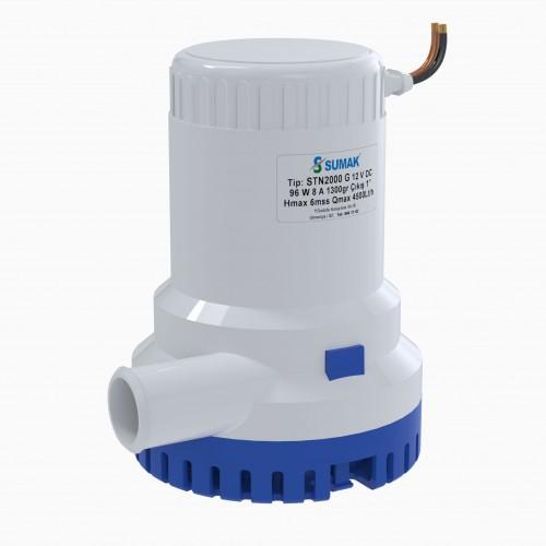 Sumak STN2000 G Manuel Sintine Dalgıç Pompası