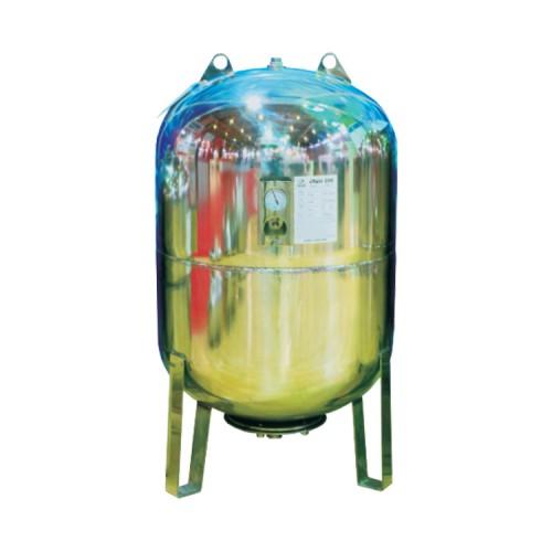 Cruwa Genleşme Tankı - 100L 8 Bar Dikey Paslanmaz Manometreli