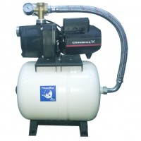 Grundfos JPC 3 + 24L Hijyenik Patlamayan Genleşme Tanklı 4 Kat 4 Daire Hidrofor