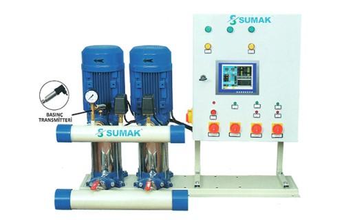 Sumak SHT Serisi Frekans Kontrollü Hidroforlar (Fiyat Sorunuz)