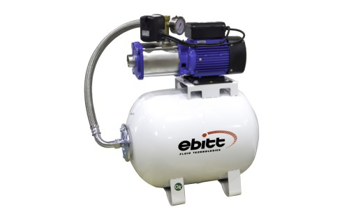Water Technologies CH50 XCH-50 4-6 50L 7 Kat 22 Daire Yatay Paslanmaz Hidrofor - EBITT