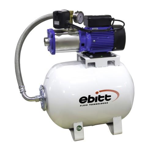 Water Technologies CH50 4-6 50L 7 Kat 22 Daire Yatay Paslanmaz Hidrofor