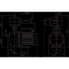 Wilo FWJ 203 (1HP- 2 Kat  2 Daire Hidrofor)
