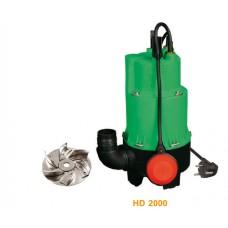 Troy HD 2000 Foseptik Dalgıç Pompa
