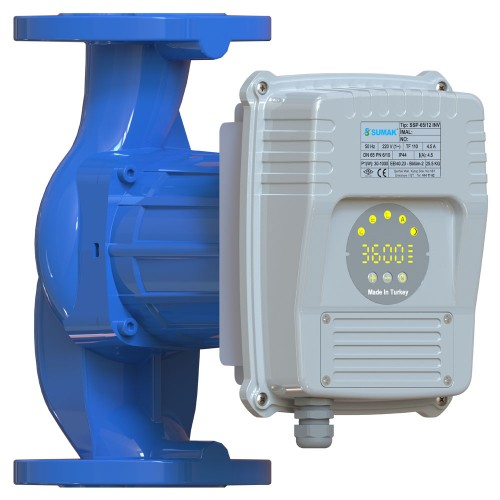 Sumak SSP 50/9 INV Frekans Kontrollü Sirkülasyon Pompası