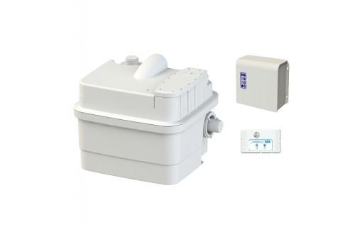 Sanihydro Sanicubic 1 - Max. 4 Klozet, Banyo, Mutfak, ve Çamaşırhane Atık Su Pompası (Ücretsiz Kargo)