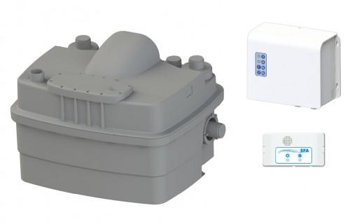 Sanihydro Sanicubic 2 Classic - Max. 6 Klozet, Banyo, Mutfak, ve Çamaşırhane Atık Su Pompası (Ücretsiz Kargo)