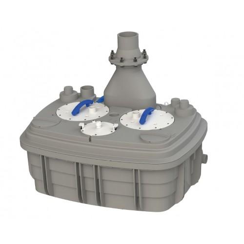 Sanihydro Sanicubic 2 XL (Trifaze) - Max. 6 Klozet, Banyo, Mutfak, ve Çamaşırhane Atık Su Pompası