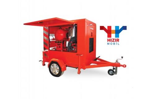 Etna Hızır 40/34 Mobil Yangın Söndürme ve Su Baskını Boşaltma Pompası